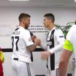 Ronaldo thúc giục đồng đội trước hiệp hai trận thắng Atletico