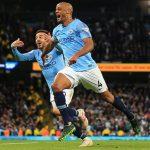 Man City đòi lại ngôi đầu sau trận thắng tối thiểu Leicester