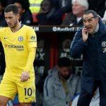 Sarri: 'Hazard khiến Chelsea gặp vấn đề về phòng ngự'