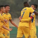 SLNA thắng trận sân khách đầu tiên tại V-League 2019