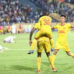 Nam Định đánh bại Đà Nẵng nhờ bàn ở phút bù giờ