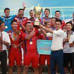 Khánh Hoà vô địch giải bóng đá bãi biển Quốc gia Cup Vietfootball