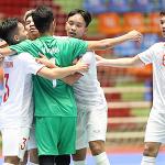 Việt Nam gặp Indonesia ở tứ kết U20 futsal châu Á