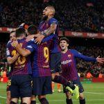 Barca hạ Sevilla 6-1, ngược dòng vào bán kết Cup Nhà Vua