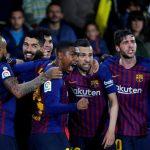 Barca thoát thua Villarreal bằng hai bàn trong ba phút cuối