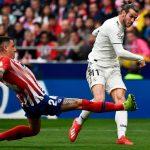 Real thắng lớn trên sân Atletico, lên thứ hai La Liga