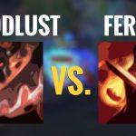 Build bảng Xạ thủ: Cuồng huyết chiến tướng hay Nhiệt huyết chiến đấu?