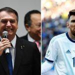 Tổng thống Brazil châm chọc Messi