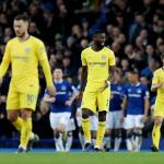 Chelsea sảy chân trước Everton