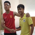 Cầu thủ Hà Nội đến phòng riêng xin lỗi đối thủ người Trung Quốc