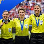 Trọng tài nữ cầm còi Siêu cup châu Âu 2019
