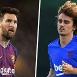 Griezmann: 'Messi chưa chào đón tôi tới Barca'