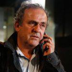 Platini được thả sau 15 tiếng thẩm tra