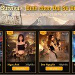 """Hàng loạt bóng hồng xinh đẹp xuất hiện trong cuộc thi """"Đại sứ diệt Zombie"""" của State of Survival"""