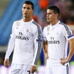 Ronaldo muốn James Rodriguez đến Juventus