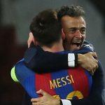 HLV Luis Enrique thừa nhận từng có bất đồng với Messi