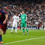 Barca từng hai lần vô địch sau khi Messi lập cú đúp ở bán kết