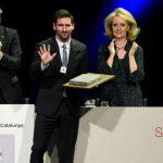 Messi được trao giải thưởng Sant Jordi