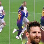 Hàng nghìn CĐV kiến nghị UEFA phạt nguội Messi