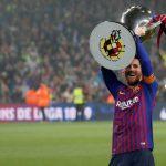 Messi ghi bàn giúp Barca vô địch sớm ba vòng