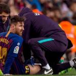 Messi nghỉ tập để phòng bất trắc trước El Clasico