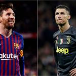 Ronaldo và Messi lọt vào đội bóng tiêu biểu Champions League