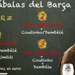 Barca muốn đổi Coutinho và Dembele lấy Neymar