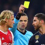 Ramos bị cấm hai trận ở Champions League vì tội cố tình nhận thẻ