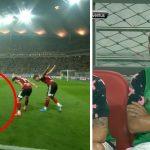 Cầu thủ Hàn Quốc bắt chước cách mừng bàn thắng của Ronaldo