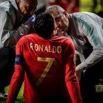Ronaldo chấn thương, Bồ Đào Nha hòa trận thứ hai liên tiếp