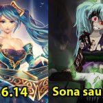 Bản hotfix của 6.14, Sona bị nerf vì quá bá (67% hồi chiêu cuối)