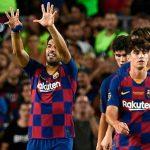 Suarez ghi bàn muộn, giúp Barca hạ Arsenal