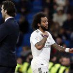 Marcelo - dấu lặng trong mùa xuân của Real