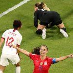 Mỹ thắng Anh, vào chung kết World Cup nữ