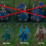 Trang phục Vinh Quang sẽ đổi màu dựa theo bậc hạng mà bạn đạt được
