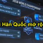Giải đấu Hàn Quốc mở rộng đây sao?