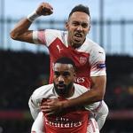 Arsenal thắng cách biệt hai bàn ở lượt đi bán kết Europa League