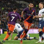 Man City đánh bại Tottenham, trở lại ngôi đầu Ngoại hạng Anh