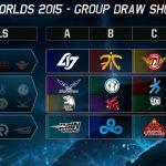 LMHT: Kết quả bốc thăm vòng bảng Chung kết Thế giới mùa 5
