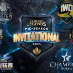 Giải Mid-Season Invitational đã sẵn sàng khởi tranh