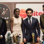 Salah, Mane, Aubameyang vào danh sách rút gọn giải Cầu thủ hay nhất châu Phi