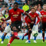 Man Utd ngã ngựa trước Brighton dù Lukaku và Pogba ghi bàn