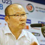 HLV Park Hang-seo: 'Bùi Tiến Dũng đủ tư chất làm đội trưởng Olympic Việt Nam'