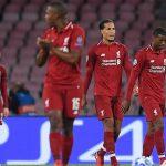 Liverpool thua phút cuối trên sân Napoli