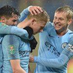 Man City vào bán kết Cup Liên đoàn Anh