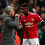 Pogba chia vui cùng đồng đội khi Mourinho bị sa thải