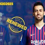 Barca gia hạn hợp đồng với Busquets tới năm 2023