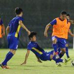 Việt Nam tập kín trước trận tứ kết