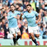 Man City giữ ngôi đầu với chiến thắng năm sao