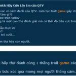 QTV lại bị người chơi tố cáo, đề nghị Garena khóa acc vì troll